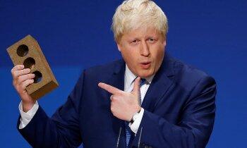 Lielbritānijas premjers būs cietā 'Brexit' sludinātājs Boriss Džonsons