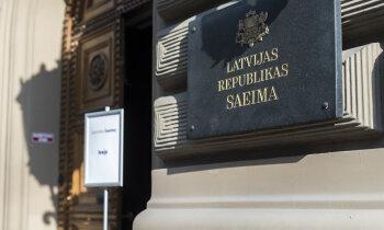 Saeimas komisija atbalsta stingrākos valdības lēmumus 'Covid-19' ierobežošanai