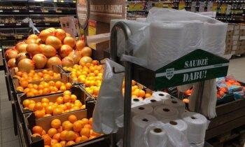 Plastmasas maisiņu ierobežošana veikalos – progresa imitācija