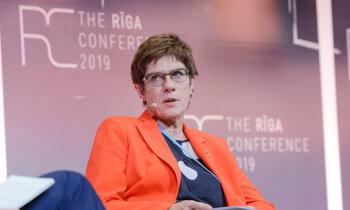 Ieguldījums NATO nav vērtējams tikai pēc aizsardzības budžeta, pauž Krampa-Karenbauere
