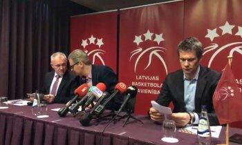 Latvijas basketbola savienība izsaka rājienu Šnepam