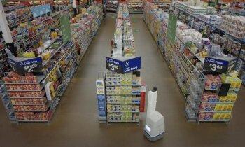 'Walmart' atlaiž no darba robotus