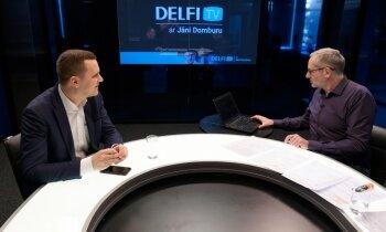 'Delfi TV ar Jāni Domburu' ĀM pārstāvis Jānis Beķeris atbild par ārkārtas situāciju. Pilns ieraksts