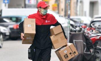 Ziemassvētki visu gadu: sūtījumu piegādes uzņēmumiem iespējams vēl viens rekordgads