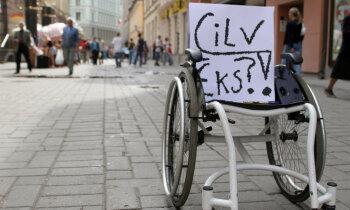 Vides pieejamība nav iegriba! Invalīdu un viņu draugu apvienība 'Apeirons'