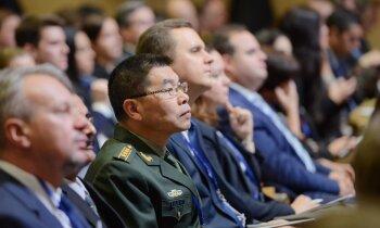 Foto: Drošības un politikas eksperti pulcējas 'Rīgas konferencē 2019'
