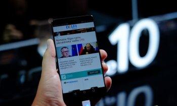 Foto: 'Huawei' prezentē jaunu flagmani – 'Mate 10' viedtālruni