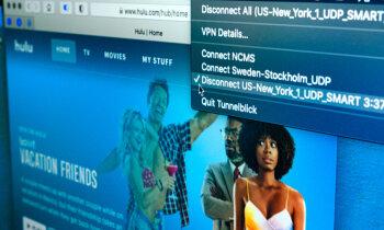 Pelēkā, sarkanā un melnā zona: 'Netflix', 'Hulu' un citu servisu skatīšanās, izmantojot VPN