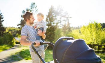Tētis bērna kopšanas atvaļinājumā – vīrieši izmanto iespēju, taču būtiska kāpuma nav