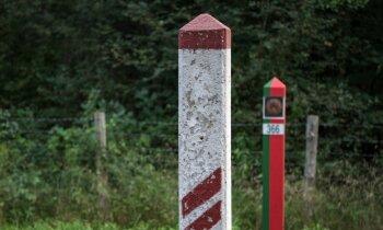 Nozuduši patvēruma meklētāji uz Latvijas-Baltkrievijas robežas
