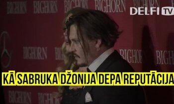 'Delfi' skaidro: Kā sabruka Džonija Depa reputācija