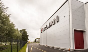 Foto: Jaunā 'Caljan' ražotne, kas atrodas bijušajā 'Liepājas Metalurga' mehāniskajā cehā