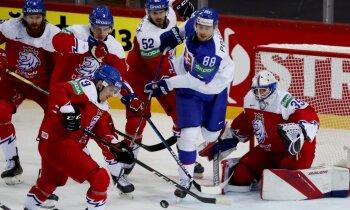 Pasaules hokeja čempionāts: 1. jūnija dienas spēļu apskats