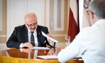 Šonedēļ 'Maisi vaļā': VDK dokumenti par Egilu Levitu, prezidents intervijā identificē aģentu
