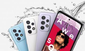 'Samsung' prezentē jaunos 'A' sērijas viedtālruņus