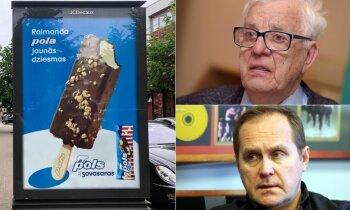 Не согласовали и не заплатили: Раймонд Паулс оказался в рекламе мороженого Pols