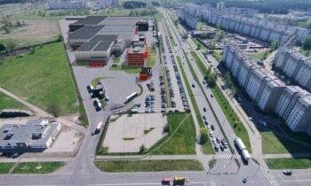 Foto: 'Rimi' investē 75 miljonus un Rīgā būvēs milzīgu loģistikas centru