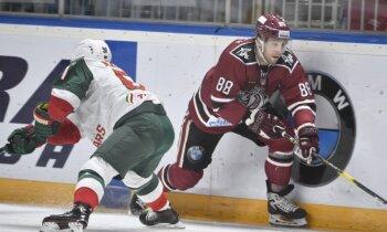 Rīgas 'Dinamo' zaudējumu sērija turpinās ar neveiksmi pret KHL čempioniem 'Ak Bars'