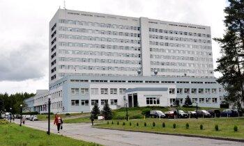 Практикантки Даугавпилсской больницы: