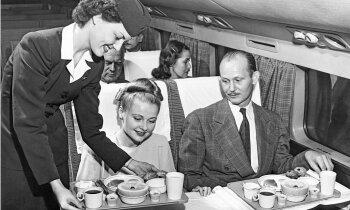 Maltīte lidmašīnā. Aviācijas ēdināšanas stāsts ar 100 gadu vēsturi