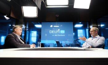 'Delfi TV ar Jāni Domburu' atbild 'Saskaņas' valdes priekšsēdētājs Jānis Urbanovičs. Pilns ieraksts