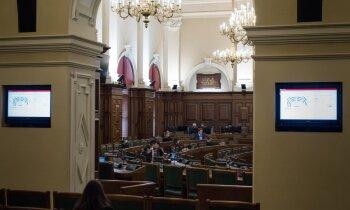 Frakcijas deleģējušas savus pārstāvjus parlamentārās izmeklēšanas komisijai par valdības darbu Covid-19 laikā