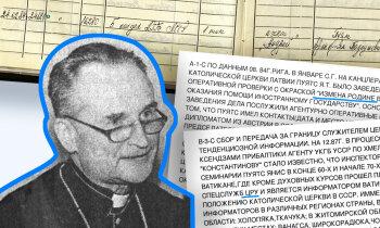 'Maisi vaļā': VDK par kardinālu – arhīva aģents 'Andrejs', CIP apmācīts dzimtenes nodevējs; Jānis Pujats: pildīju misiju