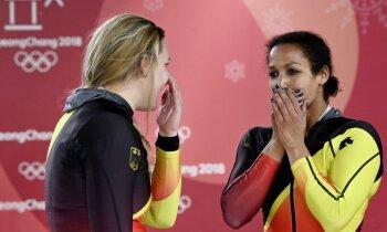 Vācijas bobslejiste Marjama Jamanka: tikai pēc mēneša apjēdzu, ka esmu olimpiskā čempione