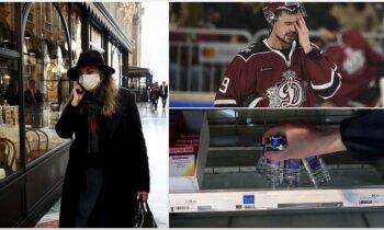 'Delfi plus': 'Covid-19' Latvijā, zaudētā sala un 'Dinamo' antirekordi