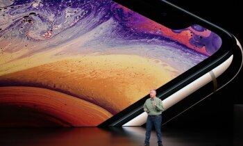 'Apple' prezentējis trīs jaunus 'iPhone' modeļus un jaunās paaudzes viedpulksteni