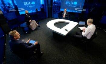 'Delfi TV ar Jāni Domburu' atbild Ziemele, Kazāks un Žagars: mācības 2020., prognozes 2021. Pilns ieraksts