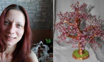 Stāsts par uzņēmību: Ingūna sāka pērļot, lai nodrošinātu sevi un meitiņu
