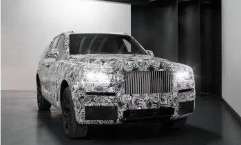 'Rolls-Royce' parādījis sava pirmā pilnpiedziņas auto prototipu