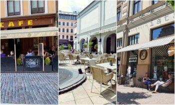 Laimīgā pilsēta! Astoņas āra terases Rīgā, kurās baudīt dzīvi
