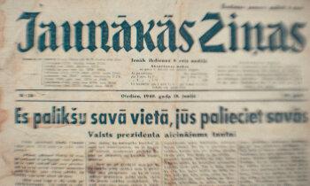 80 gadi kopš Latvijas okupācijas: Ulmaņa maldinošā runa par palikšanu savās vietās
