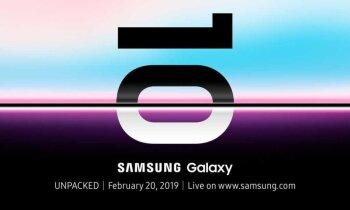 Pirmais 'Samsung' 5G telefons būs 'Galaxy S10 X'
