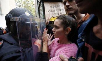 Madrides pārstāve Katalonijā: Spānijā nav politieslodzīto, mūsu karogs ir dialogs