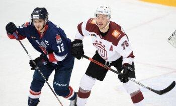 Rīgas 'Dinamo' sīvā zaudējumā ielaiž vārtus pirmajā minūtē un spēles izskaņā