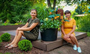 Добрые соседи: два сада в Вилянах, где нет забора и слышны трели соловьев