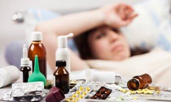 Gripa šosezon prasījusi 48 cilvēku dzīvības; slimības intensitāte samazinās