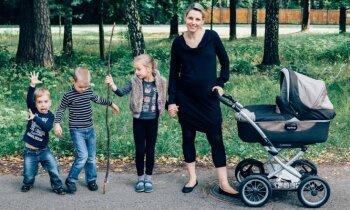 Šķīstības solījums, bērna zaudējums un Dieva mīlestība – daudzbērnu mammas Evelīnas neparastais stāsts