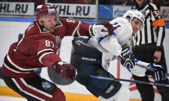 Rīgas 'Dinamo' sezonas pēdējā izbraukuma spēlē zaudē Minskas klubam