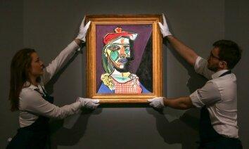 Par Eiropas izsoļu cenas rekordisti kļūst Pikaso mīļākās portrets