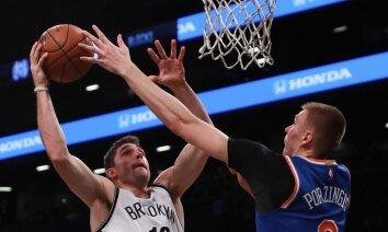 Porziņģa 'Knicks' ar uzvaru noslēdz gatavošanos jaunajai sezonai