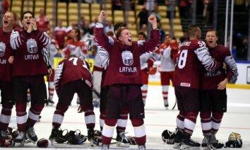Latvijas hokeja izlasei kāpums IIHF rangā; nākamā gada PČ grupas vēl neizziņo