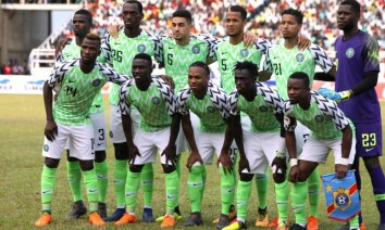 Dažu minūšu laikā izķer pārdošanā nonākušo Nigērijas futbola izlases formu
