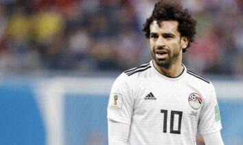 Mediji: Salāhs sakašķējies ar Ēģiptes Futbola federāciju