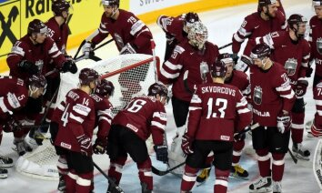 Latvijas hokeja izlase pēc četru gadu pārtraukuma izcīna vietu PČ labāko desmitniekā