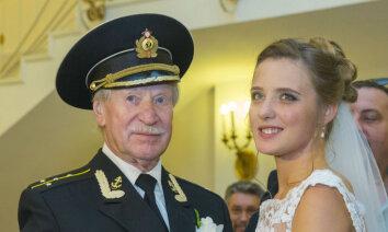 87-летний Иван Краско и его молодая жена подали заявление на развод