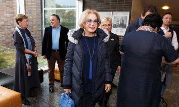 """Людмила Максакова в Риге: """"Не знала, что люди такие страшные и злобные!"""""""